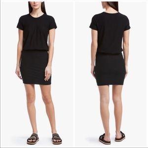 James Perse NWT Blouson shirt dress black large